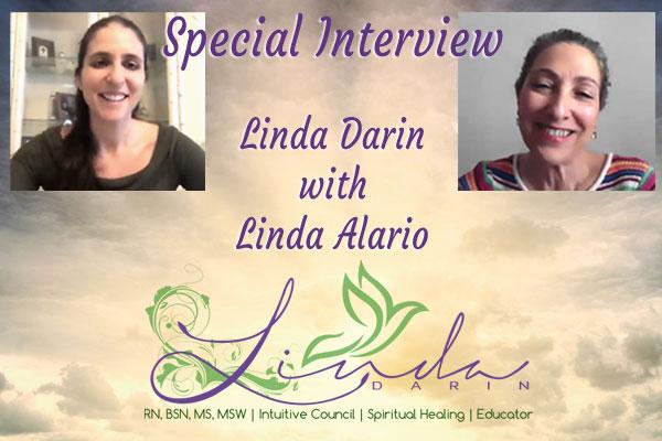 Linda Alario interviews Linda Darin on Darkness and Light - Sound Healing, Chakra Balancing, Energy Healer Sessions